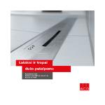 ACO dušo nuotekų sistemų katalogas
